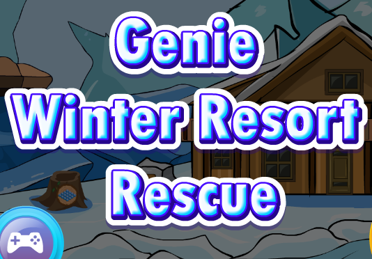 GenieFunGames Genie Winter Resort Rescue
