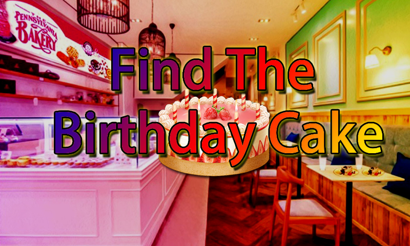 Find The Birthday Cake