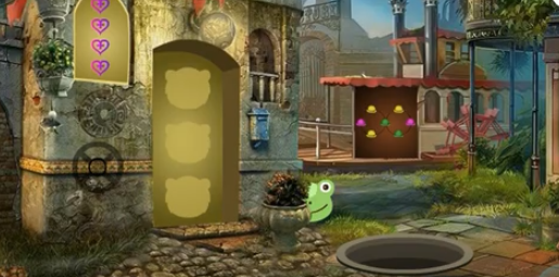Games4King Christmas Crocodile Escape