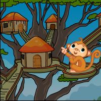 G4E Tree House Monkey Escape